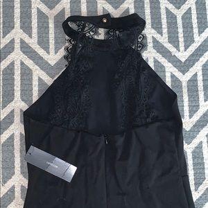 Bodycon high neck dress